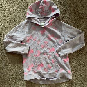 Girls under armor Hooded sweatshirt size 1medium